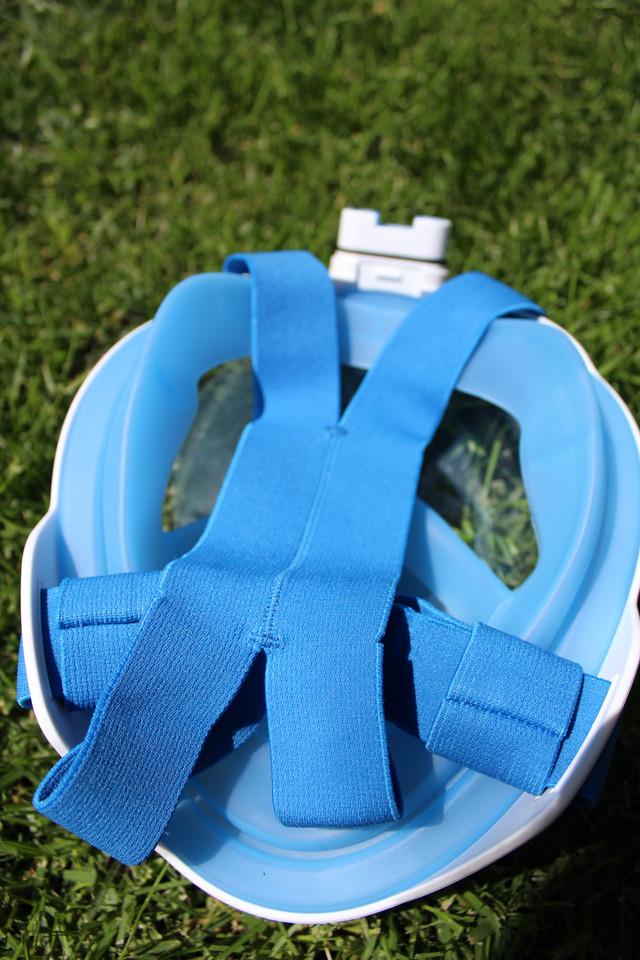 Крепежный корсет в маске EasyBreath