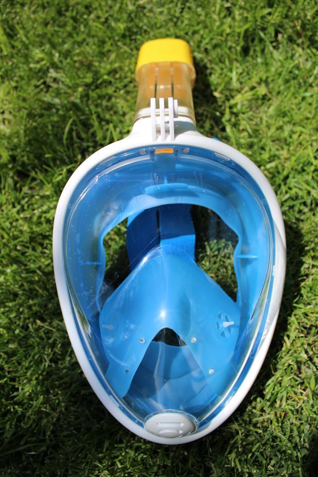 Дизайн маски для плаванья EasyBreath