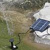 Фонтан на солнечных батареях с разными насадками, фото 3