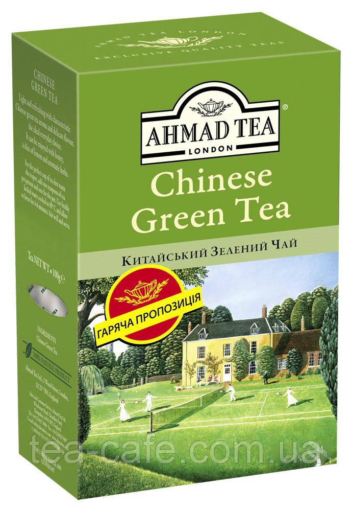 Чай Ахмад Китайский зеленый, 100 гр.