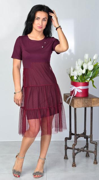"""Ошатне літнє плаття """"Надія"""" розміри 44-46,48-50"""