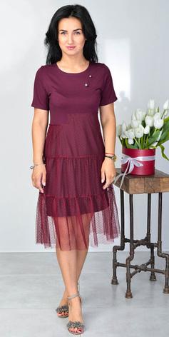 """Ошатне літнє плаття """"Надія"""" розміри 44-46,48-50, фото 2"""