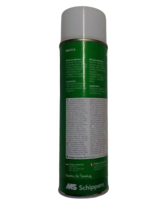 Краска-спрей MS Schippers для маркировки животных, 500 мл. Цвет- зелений (Германия)