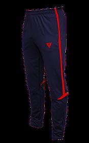 Зауженные спортивные штаны Arsenal Titar т.сине/красный