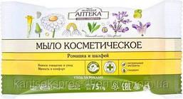 """Мыло косметическое Зеленая Аптека """"Ромашка и шалфей"""""""