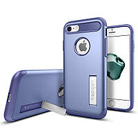 Чехол Spigen для iPhone 8 / 7 Slim Armor, Violet, фото 1