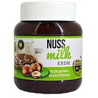Шоколадная паста с орехом NUSS MILK 400 грамм