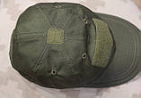 Бейсболка (кепка) PoliCotton Ripstop Olive (C01), фото 6