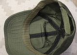 Бейсболка (кепка) PoliCotton Ripstop Olive (C01), фото 7