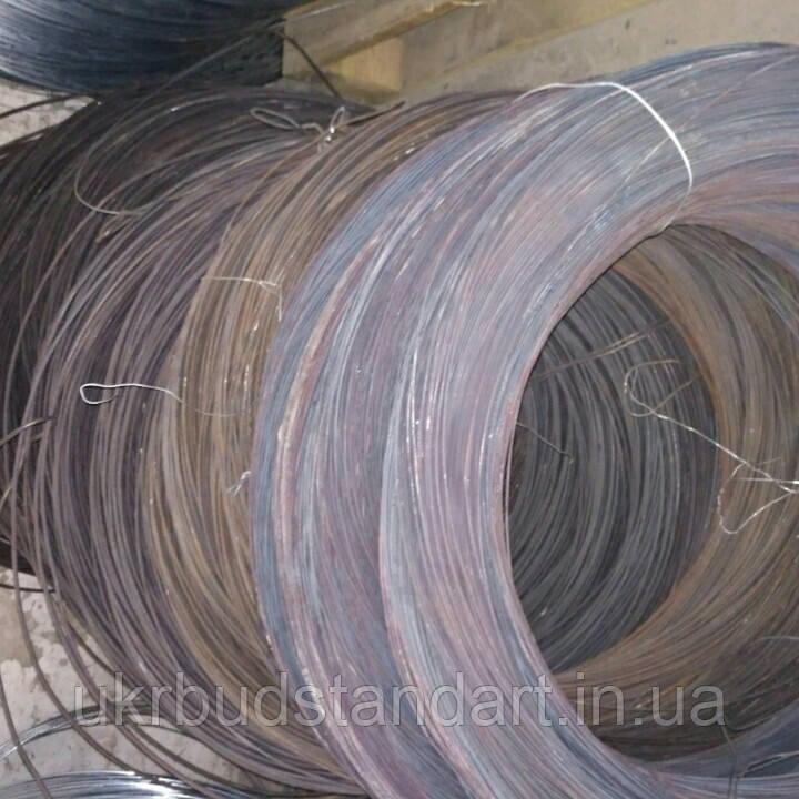 Проволока стальная пружинная ф 5 (сталька)