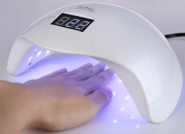 LED UV лед уф лампа Sun5 сан5 48вт для наращивания ногтей, гель лак