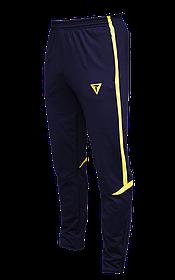 Зауженные спортивные штаны Arsenal Titar т.сине/желтый