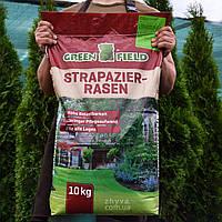 Газонна трава стійка до витоптування Greenfield  Stapazierrasen 10кг, фото 1