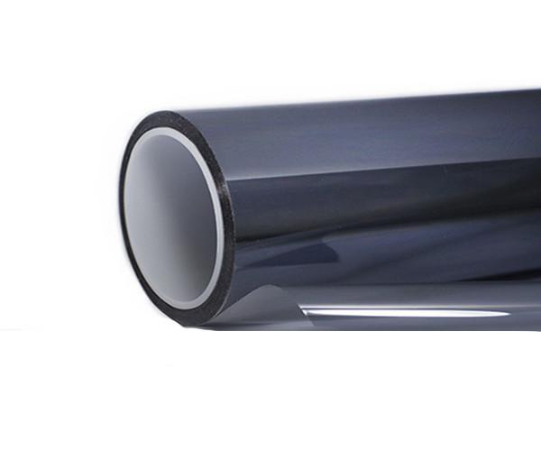 Солнцезащитная зеркальная плёнка PRO R Silver 50 (серебро) ширина 1,5 м. длина 70 см.