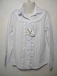 Детская блуза 6-9 школьная 15934