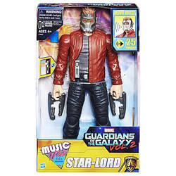 Електронна іграшка Зоряний Лорд 30СМ Вартові Галактики - Star-Lord Music Mix, Guardians of the Galaxy, Hasbro