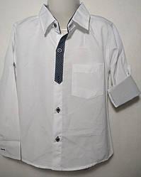 Детская рубашка 6-9 школьная 44648