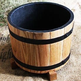 Дубовая кадка для цветов Seven Seasons™, 5 литров (WT-1814)