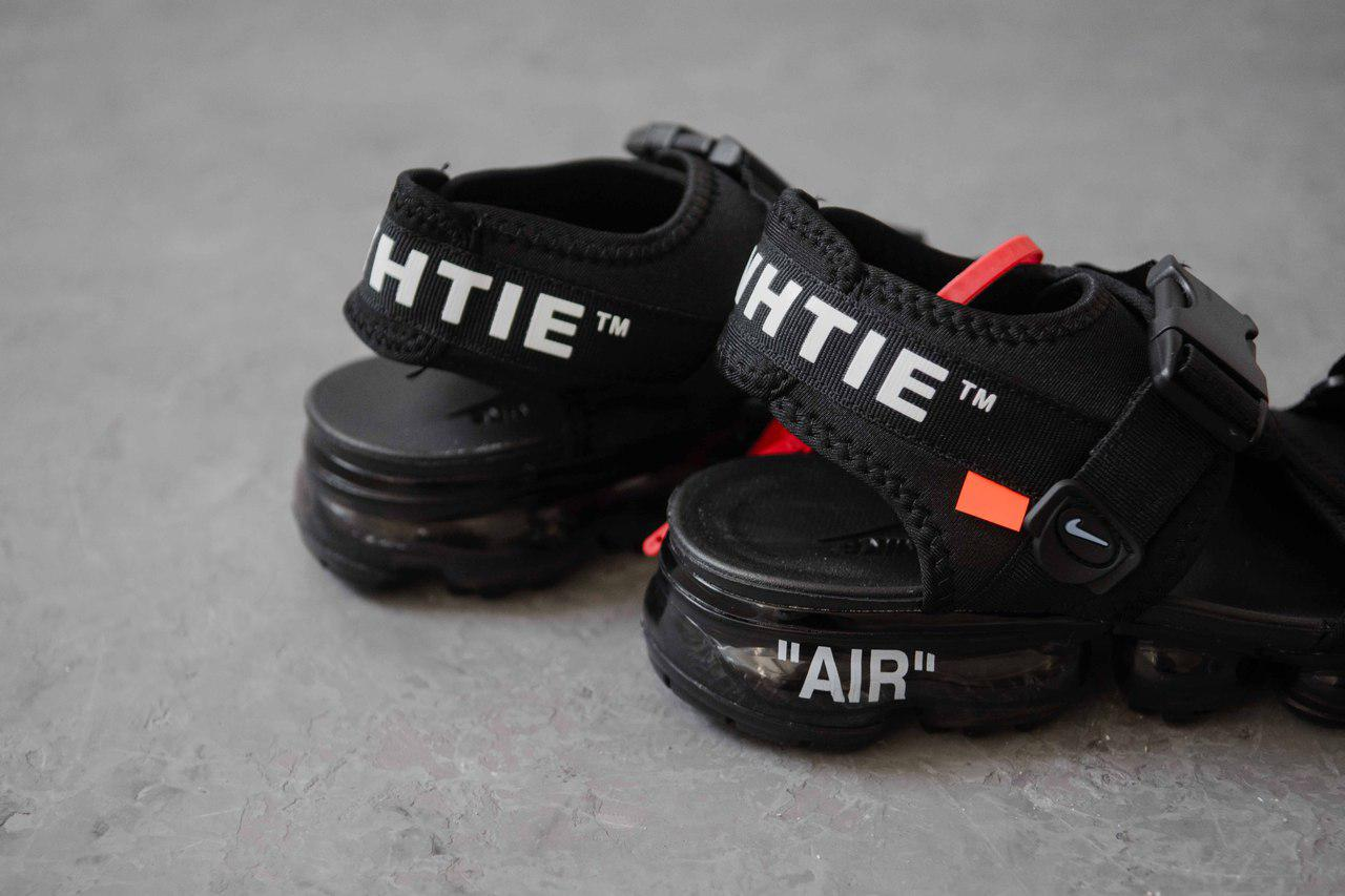 68c3b8e4 ... OFF White x Nike Sandals Black | сандалии / босоножки мужские; черные;  найк, ...