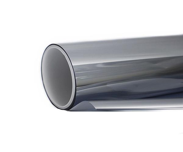 Солнцезащитная зеркальная плёнка SUN CONTROL R Silver 20  (серебро) ширина 1,5 м.