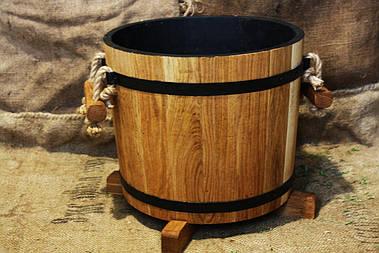 Дубовое кашпо для цветов Seven Seasons™, 12 литров (WT-1816)