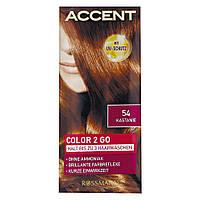 Accent Color 2 Go - Оттеночный шампунь для волос № 54 Каштан