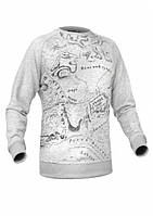 P1G-TAC ТОЛСТОВКА БЕЗ КАПЮШОНА PATRIOT MAP SWEATSHIRT H8209092AG