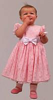 Платье нарядное детское на х\б подкладе М -980 рост 116
