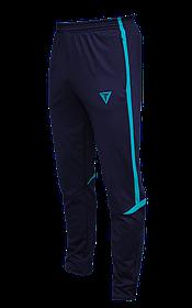 Зауженные спортивные штаны Arsenal Titar т.сине/бирюзовый