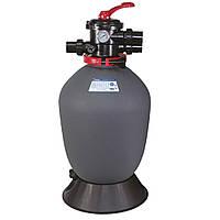 Фильтр для очистки воды бассейна Emaux T500 Volumetric (10 м³/час, D508). Бочка фильтра для засыпки, фото 1
