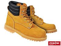 Ботинки кожаные (нубук) REIS BRFarmer