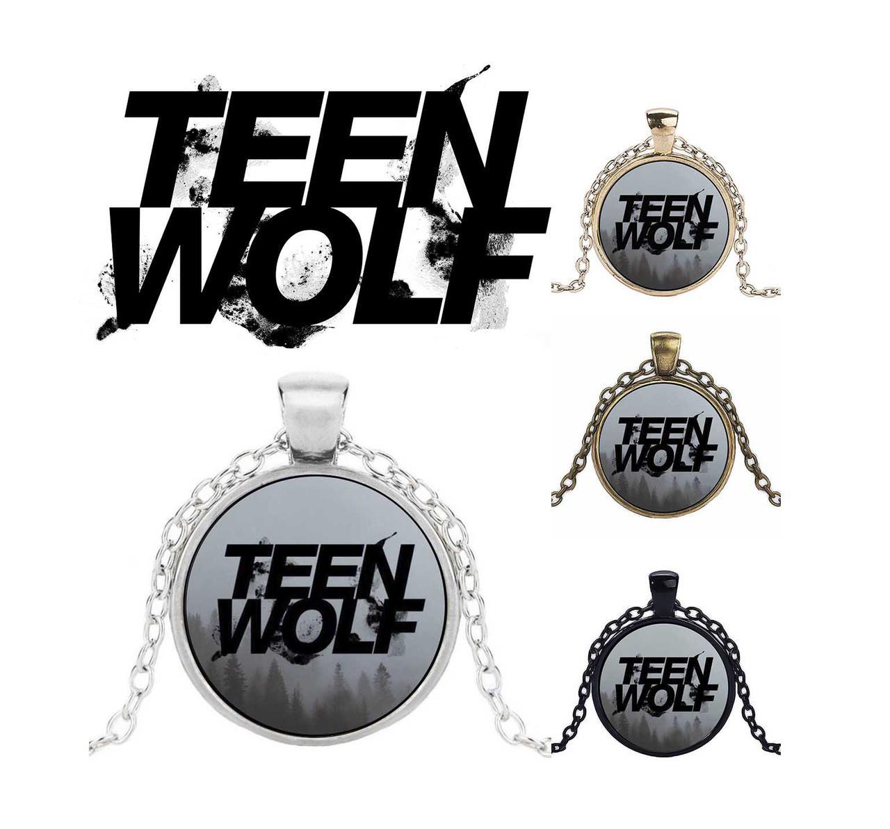 Кулон с изображением логотипа Teen Wolf Волчонок