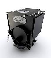 Отопительная печь Новаслав CALGARY LUX с чугунной конфоркой