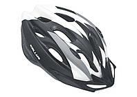 Шлем KLS Blaze S-M 54-57 см Черный/Белым