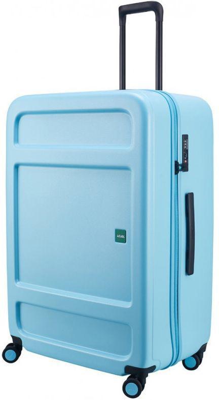 Большой чемодан на колесах Lojel Juna L 115 л. Lj-CF1639L_BLU голубой