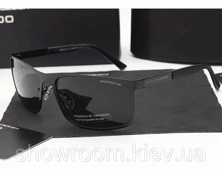 Солнцезащитные очкив стиле Porsche Design c поляризацией (p-8566) black