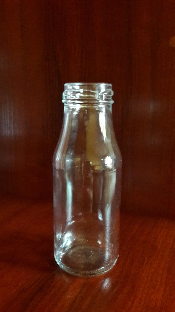 Бутылка стеклянная 200 мл с горловиной твист 38 мм (24 штуки в упаковке)