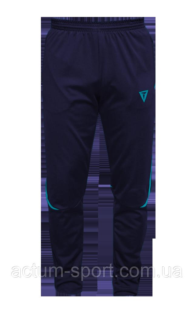 Зауженные спортивные штаны Arsenal Titar т.сине/бирюзовый т.сине/бирюзовый S, т.сине/бирюзовый