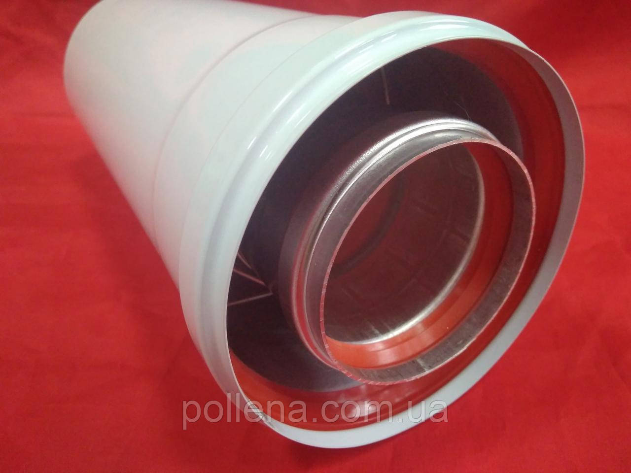 Удлинитель 0,5м (500мм) коаксиальный 60/100
