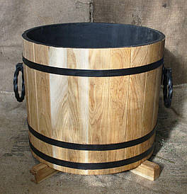 Дубовая кадка для цветов Seven Seasons™, 32 литра (WT-1828)