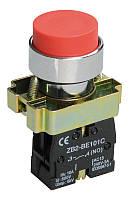 Кнопка управления LAY5-BA42 без подсветки красная 1р IEK
