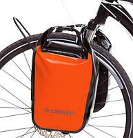 Велосумка Crosso DRY SMALL 30 L CLICK Оранжевая (Велобаул, Велорюкзак на багажник) (CO1010C-orange), фото 1