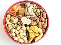"""Подарочный Набор Коробочка с Орехами и Сухофруктуми 500 г """"Lovely nuts"""" Витаминная"""