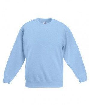 Детский свитер однотонный 041-УТ-k702 fruit of the loom
