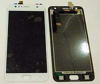Оригинальный дисплей (модуль) + тачскрин (сенсор) для Asus Zenfone 4 Selfie ZD553KL (белый цвет)