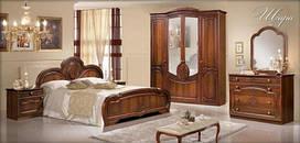 Спальня Щара СлонимМебель орех (шкаф 4-х дверный)