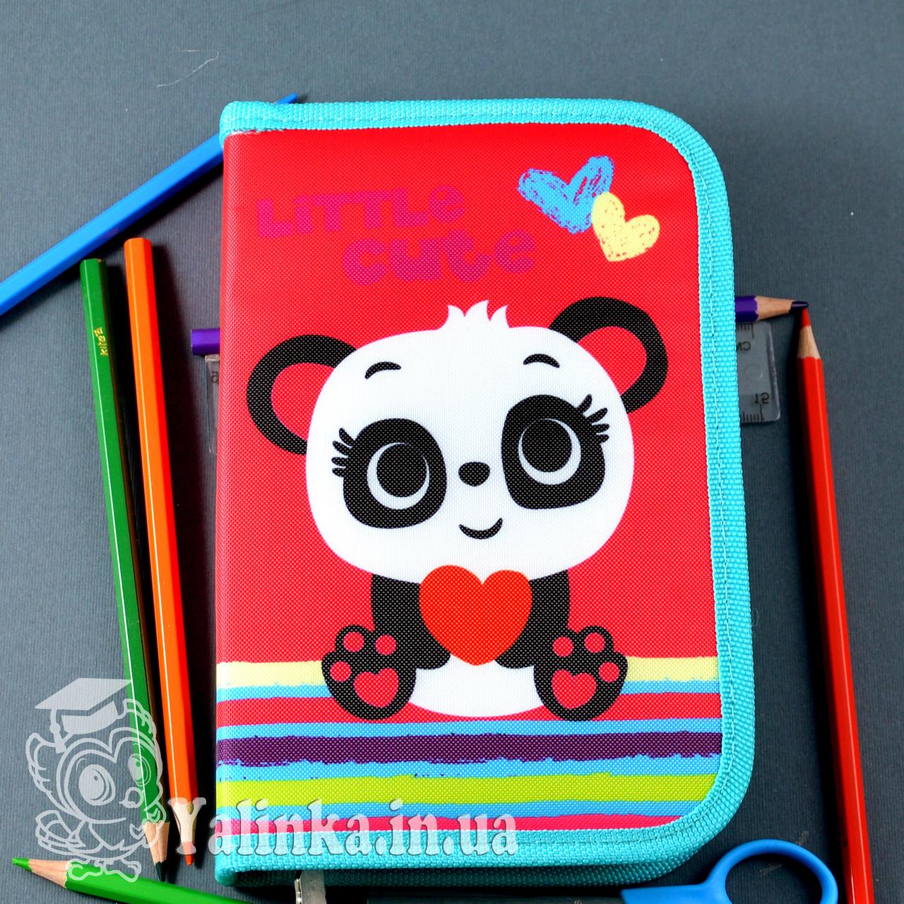 Пенал твердый одинарный с клапаном Panda 531689 SMART