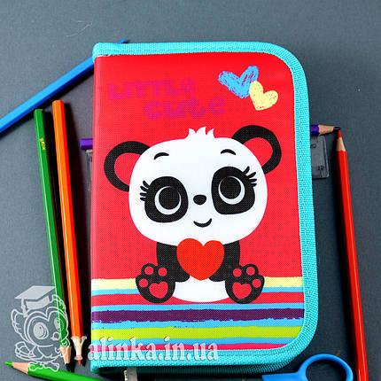 Пенал твердый одинарный с клапаном Panda 531689 SMART, фото 2
