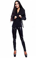 M (44-46) / Женское кашемировое пальто Porter, черный