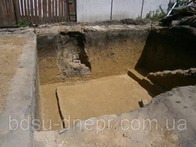 Выемка грунта в Днепропетровске недорого.